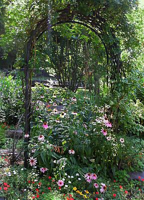 Photograph - Garden Arch by Anne Cameron Cutri