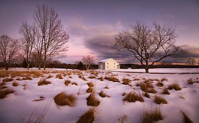 Photograph - Garden Barn by Robert Clifford