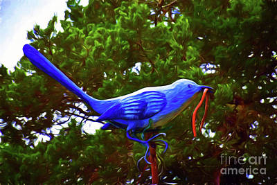 Photograph - Garden Bird 11618-2 by Ray Shrewsberry
