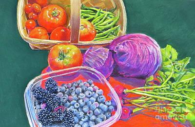 Garden Blessings Art Print by Karol Wyckoff