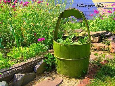 Garden Bliss Print by Jen White