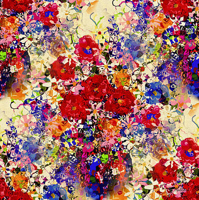 Painting - Garden Blooms by Natalie Holland