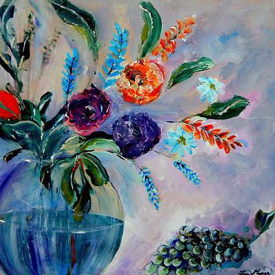 Garden Bouquet Print by Lisa Kaiser