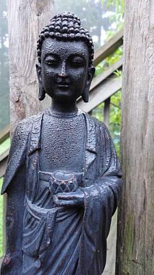 Photograph -  Garden Buddha by John Lyes