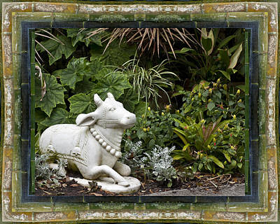 Photograph - Garden Bull by Bell And Todd