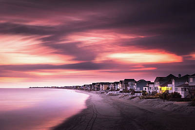 South Carolina Wall Art - Photograph - Garden City Sunset by Ivo Kerssemakers