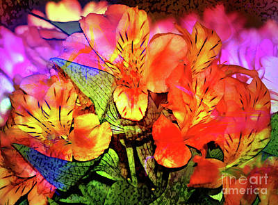 Photograph - Garden Color by Judi Bagwell