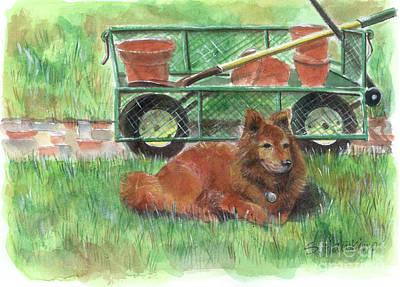 Garden Companion Art Print