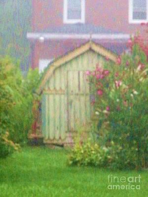 Garden Daybreak Print by Christine Belt