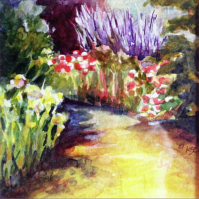 Garden Delight Original by Karen Coggeshall