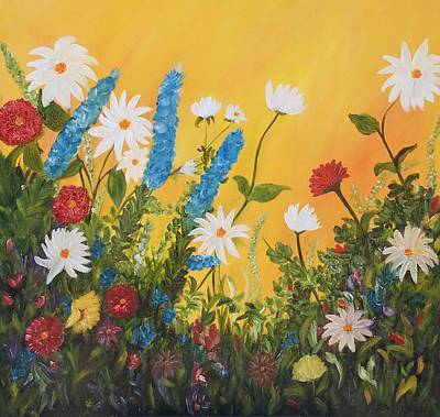 Painting - Garden Delight by Susan Dehlinger
