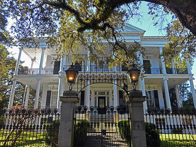 Photograph - Garden District 17 by Ron Kandt