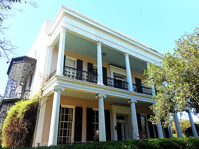 Photograph - Garden District 28 by Ron Kandt