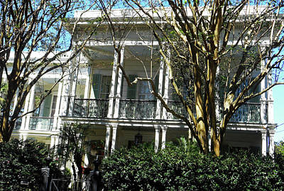 Photograph - Garden District 36 by Ron Kandt