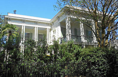 Photograph - Garden District 37 by Ron Kandt