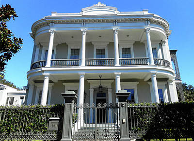 Photograph - Garden District 42 by Ron Kandt