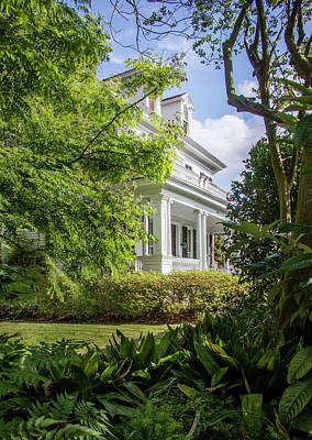 Photograph - Garden District Historic Home by James Woody