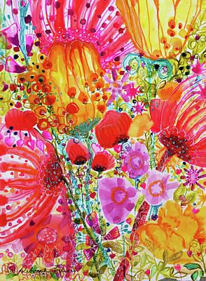 Painting - Garden Doodles by Deborah Burow