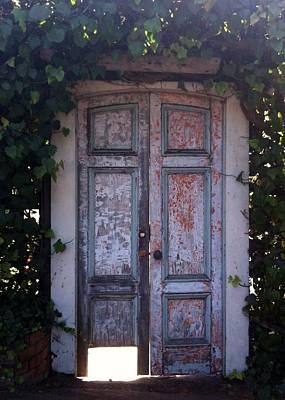 Abstract Graphics - Garden Door  by Christy Pooschke