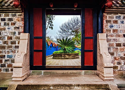 Photograph - Garden Door by Maria Coulson