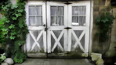 Photograph - Garden Doors by Ginger Wakem