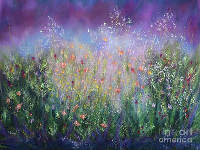 Pastel - Garden Dreams by Barrie Stark