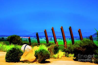 Digital Art - Garden Edge by Rick Bragan