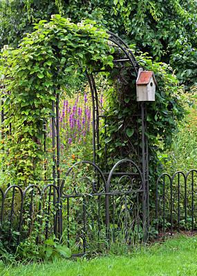 Photograph - Garden Entrance by Alan L Graham