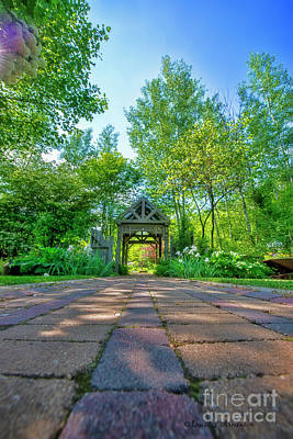 Photograph - Garden Entrance by David Arment