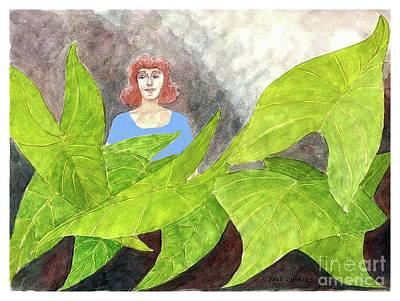 Garden Fantasy  Original by Fred Jinkins