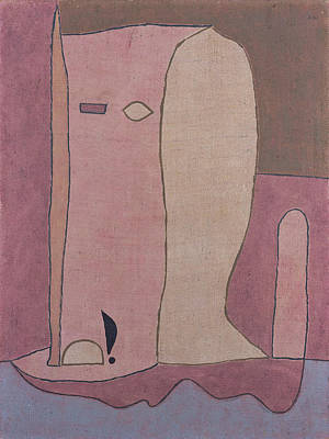 Painting - Garden Figure by Paul Klee