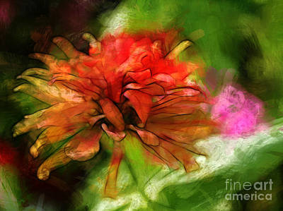 Photograph - Garden Flower by Judi Bagwell