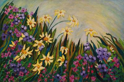 Painting - Garden by Fran Steinmark