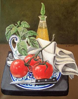 Painting - Garden Fresh by Laura Aceto