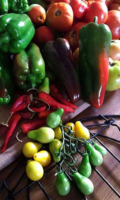 Photograph - Garden Fresh Produce by Deb Martin-Webster