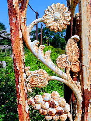 Photograph - Garden Gate by Ed Weidman