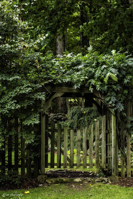 Photograph - Garden Gate by Fran Gallogly