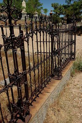 Ghost Town Photograph - Garden Gate In Virginia City Nv by LeeAnn McLaneGoetz McLaneGoetzStudioLLCcom