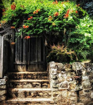 Photograph - Garden Gate by Steph Gabler
