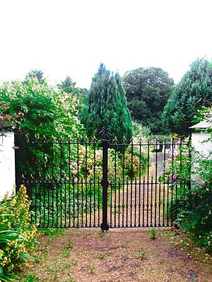 Photograph - Garden Gate by Stephanie Moore