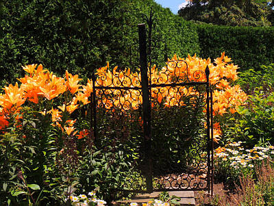 Photograph - Garden Gate by Teresa Schomig