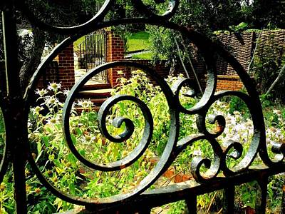 Photograph - Garden Gate by Van Corey