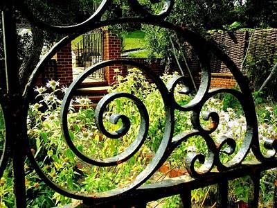 Photograph - Garden Gate by Van Corey