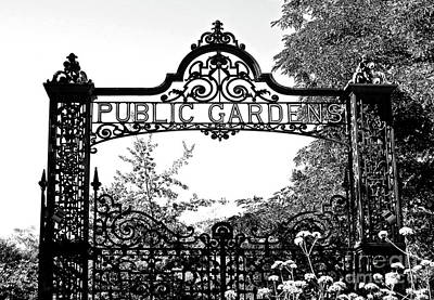 Photograph - Garden Gates by Ethna Gillespie