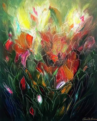 Painting - Garden by Gina De Gorna