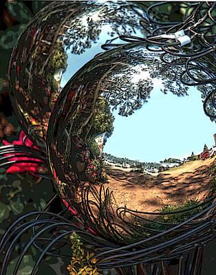 Garden Globe Art Print