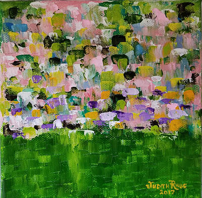 Painting - Garden Glory by Judith Rhue