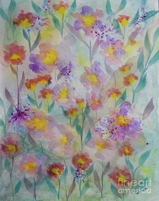 Painting - Garden Haze  by Barrie Stark