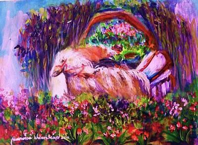 Painting - Garden Horse by Wanvisa Klawklean