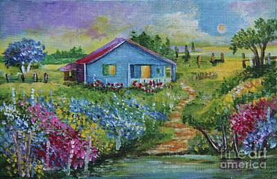 Painting - Garden House by Alicia Maury
